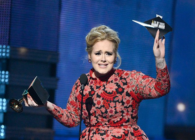The 55th Annual GRAMMY Awards - Show: Adele