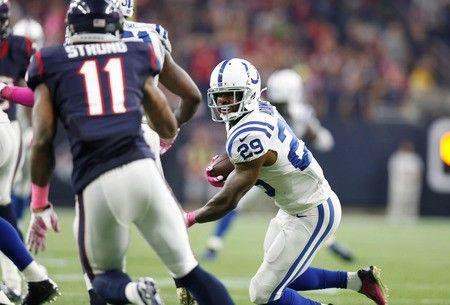 Johnson scores two touchdowns as Colts beat Texans 27-20