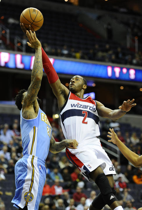 NBA: Denver Nuggets at Washington Wizards