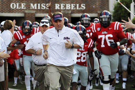 Mississippi beats Central Arkansas 49-27