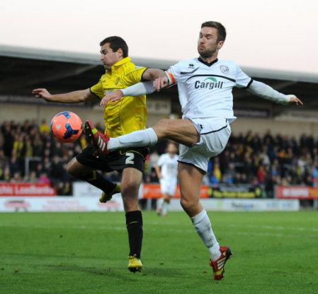 Soccer - The FA Cup with Budweiser - First Round - Burton Albion v Hereford United - Pirelli Stadium