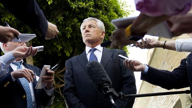 Defense Secretary Hagel Says Syria Has Used Chemical Weapons
