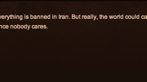 Iranian Gamers Totally Bummed That They Can't Play 'World of Warcraft'