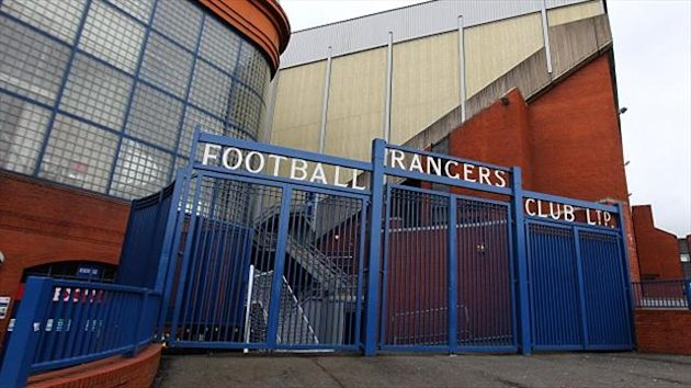 Rangers have hit out at Peter Lawwell's comments