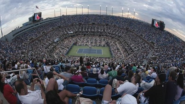 Arthur Ashe Stadium, US Open, Flushing Meadows, New York (Reuters)