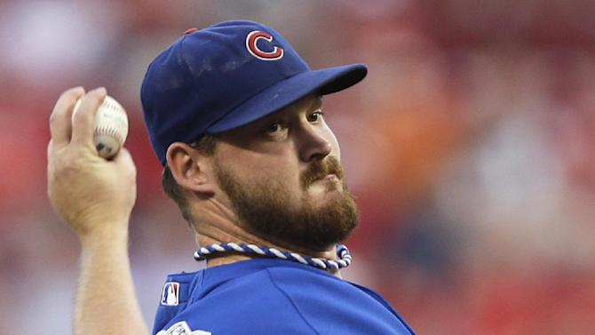 Wood, Cubs stall Reds' surge with 2-0 win