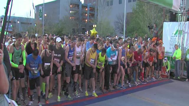 Marathon runners run to remember