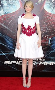 Emma Stone: Amazing Spiderman Red Carpet