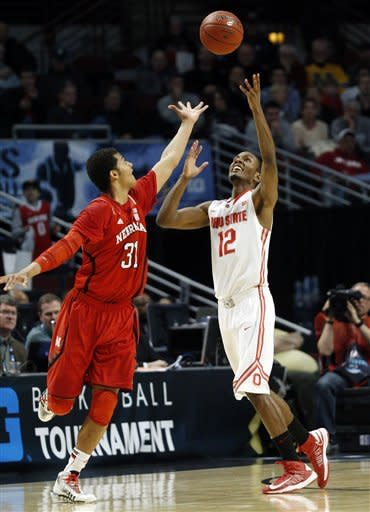 Thompson helps Ohio State beat Nebraska 71-50