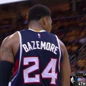 Bazemore Shows No Fear