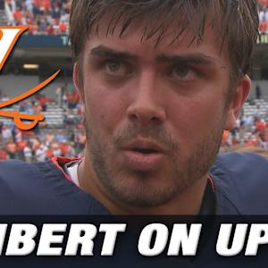 UVA QB Greyson Lambert Excited Talking About Upset Against Louisville