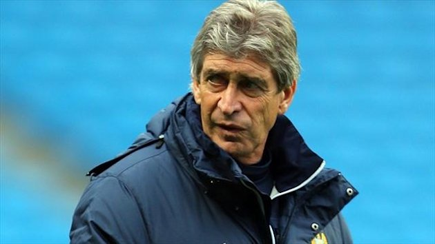 Manuel Pellegrini's Manchester City take on Barcelona in the Champions League last-16 round