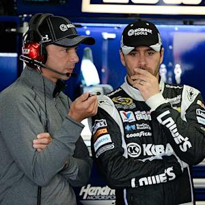 Jimmie Johnson ponders future without Knaus