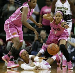 No. 7 Baylor women beat No. 12 Oklahoma St 81-64