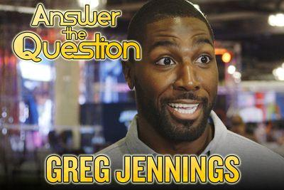 Greg Jennings goes on Super Bowl game show, talks Katy Perry and Forrest Gump