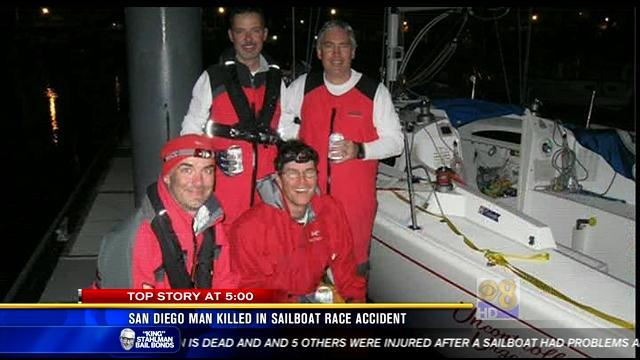 San Diego man killed in sailboat race accident