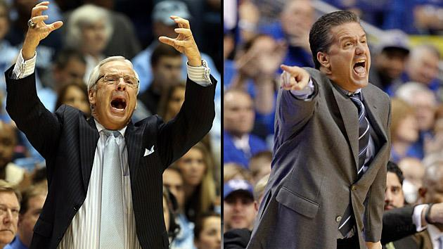 Roy Williams, John Calipari