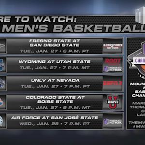 Where To Watch MW Men's Basketball 1/27/15