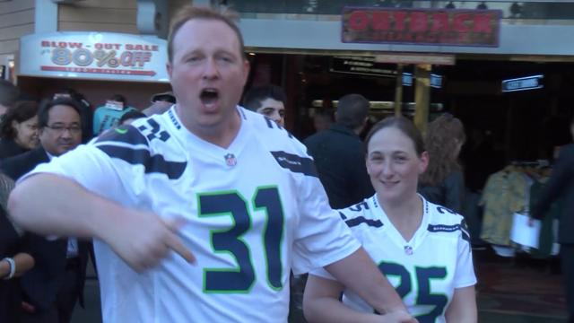 Fans prepare for Super Bowl XLIX in Las Vegas