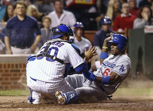 Puig leads Dodgers past Cubs 6-4