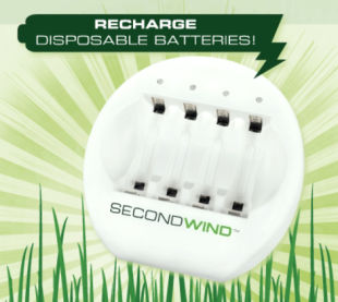 Second Wind Battery Recharger