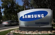 A Samsung Electronics office in San Jose, California. Lawyers for Apple and Samsung debated the differences between copying and honest competition as opening arguments were held Tuesday in a huge patent trial involving the two tech giants