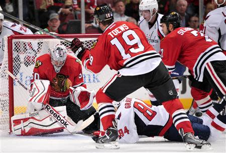 NHL: Washington Capitals at Chicago Blackhawks