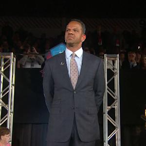 Buffalo Bills wide receiver Andre Reed introduced at Hall of Fame Dinner