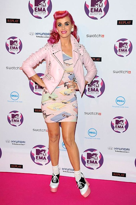 Katy Perry MTV Europe Music Awards