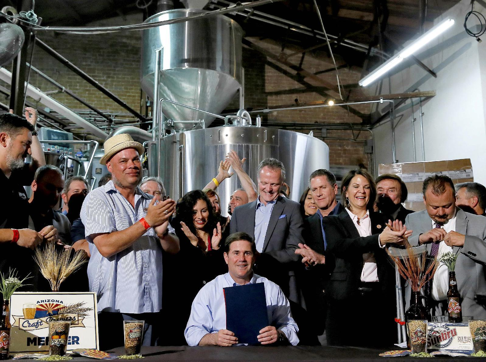 States increasing production caps for microbreweries