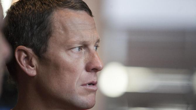 FILE - The Feb. 15, 2011 file photo shows US cyclist Lance Armstrong during an interview in Austin, Texas. UCI, the cycling governing body, agreed Monday, Oct. 22, 2012 to strip Lance Armstrong of his seven Tour de France titles.  (AP Photo/Thao Nguyen)