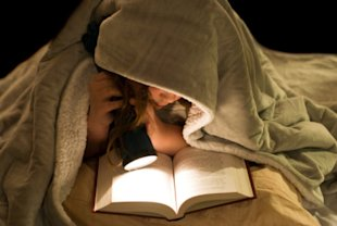 Grab a flashlight and read under the covers!