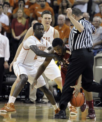 McClellan's 24 leads Texas over Oklahoma 72-64