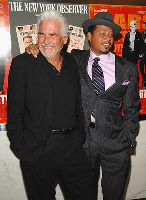 James Brolin and Terrence Howard at the New York premiere of The Weinstein Company's The Hunting Party