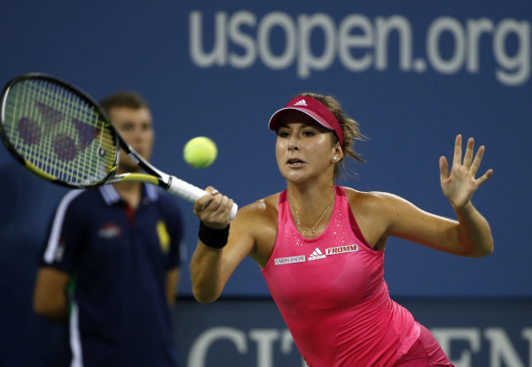 Bencic, 17, reaches US Open quarterfinals