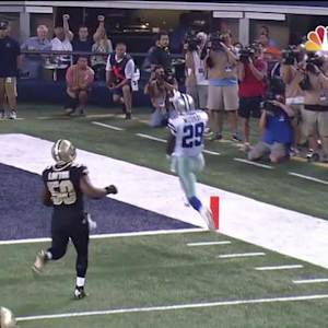 Dallas Cowboys running back DeMarco Murray 15-yard TD run