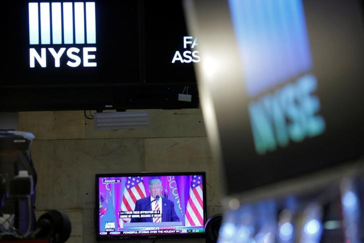 Tech firm creates Trump monitor for stock markets