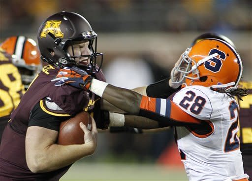 Minnesota defense stifles Syracuse in 17-10 win