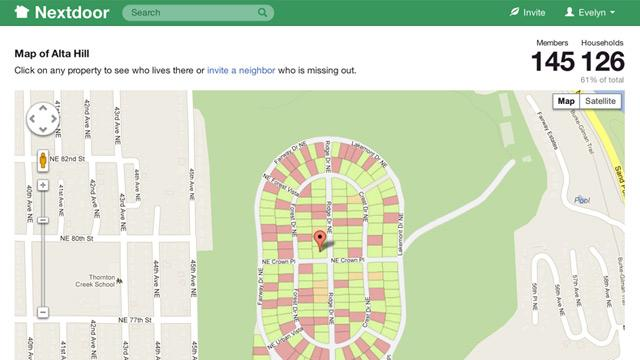 Nextdoor, A Social Network for Connecting With Neighbors, Reinvents Neighborhood Watch