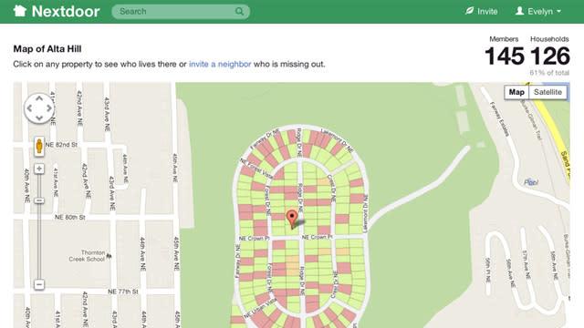 Nextdoor, A Social Network for Connecting With Neighbors, Reinvents Neighborhood Watch