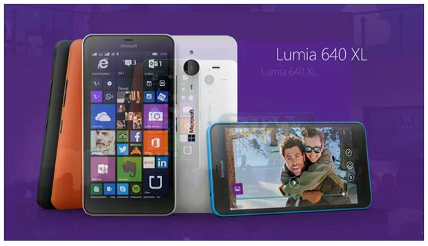 Microsoft unveils Lumia 640 and 640 XL phablet, with promise of Windows 10 flagship this year