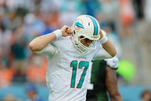 Ryan Tannehill has a new OC, new O-line and continuity at receiver. (Steve Mitchell-USA TODAY Sports)