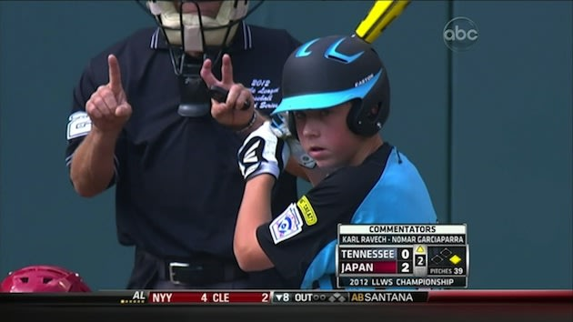 Little League World Series umpire Dan Campagnolo — Deadspin screen shot