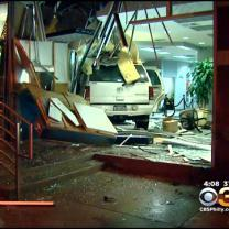 Car Crashes Through North Philly Bank