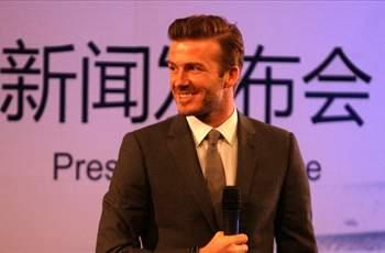 Ancelotti plays down Beckham's China trip