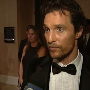Matthew McConaughey honored with major film award