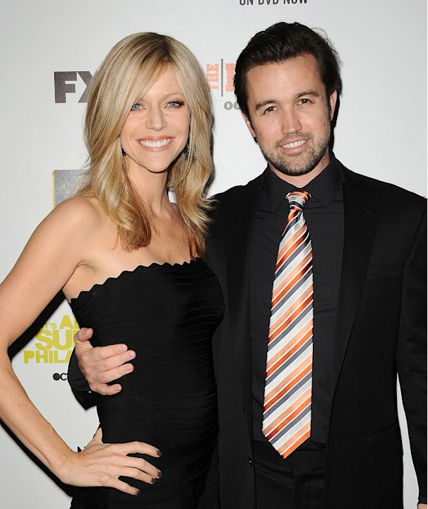 Kaitlin Olson, Rob McElhenney