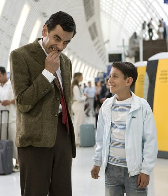Rowan Atkinson and Max Baldry in Universal Pictures' Mr. Bean's Holiday