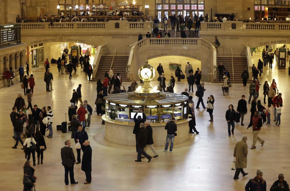 NYC's landmark Grand Central Terminal turns 100