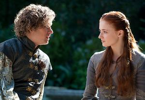 Finn Jones, Sophie Turner | Photo Credits: Keith Bernstein/HBO
